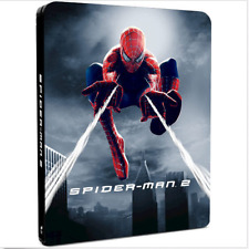 Spider-man 2 Limited Edition Steelbook with Lenticular Card (Blu-ray)