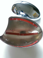 SET MK1 MINI CHROME WING MIRROR COVERS  COOPER S CLUBMAN JCW R50/R53 00-06 RHD