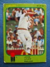 England Cricket Trading Cards 1981 Season
