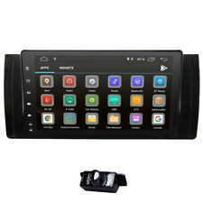 """Car GPS NAV 9"""" Android 9.0 Stereo Radio Player 4G WIFI DSP for BMW X5 M5 E53 E39"""