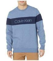 Calvin Klein Men's Soft Touch Fleece Crew Neck Long Sleeve Pullover