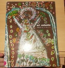 ENFANTINA EDUCATION DESSIN / ART ENFANTIN ELISE FREINET N°37 1966 COCTEAU LURCAT