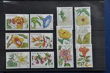 REP. SURINAME 1982 SERIE ZBL 321 FLOWERS BLOEMEN MNH POSTFRIS **