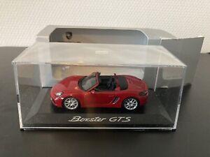 Minichamps Porsche 981 GTS Boxster Karminrot Red Rouge 1:43 WAP 0200140E Dealer