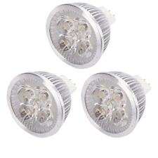 3X MR16 LED Spotlight Bulb 4W 12V 3000K Warm White Light Lamp Energy Saving NEW