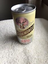 Buckhorn Beer (Lone Star Brewing) Sealed, Empty Beer Can 12 Oz Aluminum