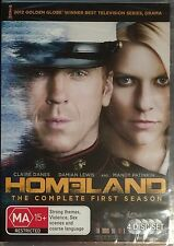 Homeland : Season 1 (DVD, 2012, 4-Disc Set)  BRAND NEW & SEALED