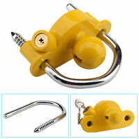 UNIVERSAL HIGH SECURITY HITCH LOCK CARAVAN TRAILER COUPLING TOW BALL LOCK NEW 83