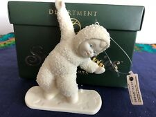 """Dept.56 Snowbabies """"Smooth Moves""""  Ornament Ideation Exclusive  #05706 from 2000"""