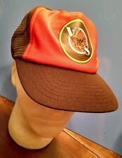 VS BSA Cap Hat Boy Scouts of America snapback brown orange gift Collectible Boys