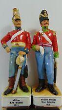 Oficial británico Infantería de Línea/vida guardias M&R 1815 Marks & Rosenfeld Porcelana