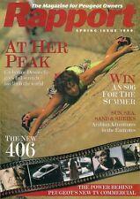 Peugeot Rapport Magazine Spring 1996 UK Market Brochure 106 306 405 406 806