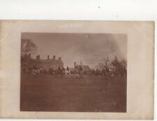 Hunting c 1905/10 Vintage RP Postcard 281b