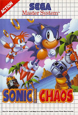 # Sonic caos-Sega Master System/MS juego-Top #