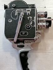 Bolex Paillard H8 Kamera  mit 3 Objektiven Schneider Cinegon / Xenon