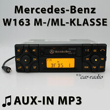 Mercedes Audio 10 BE3200 AUX-IN MP3 W163 Autoradio M ML-Klasse Kassettenradio