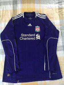 Liverpool Goalkeeper Shirt Purple Mens XL 2010