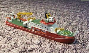 Sir David Attenborough Research Ship metal model 15000 tons 1250 scale