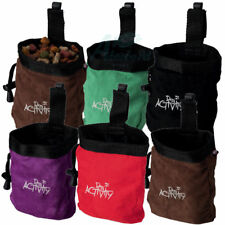 TRIXIE SOFT SUEDE EFFECT DOG ACTIVITY TRAINING SNACK BAG DOG PUPPY TREAT BAG 891