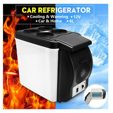 Portable Mini Car Fridge Cooler 6L 9 Can 48W Electric for Outdoor Yacht
