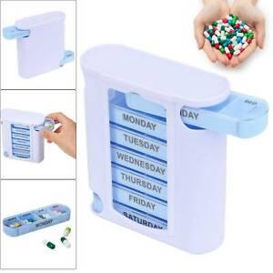 Weekly Daily Pill Box Organiser Tablet Medicine Holder Storage Dispenser  7 Day