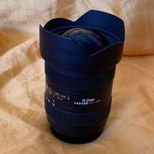 VOLLFORMAT Sigma AF 12-24 mm 4,5-5,6 II DG HSM Ultra-Weitwinkel-Zoom Canon EF