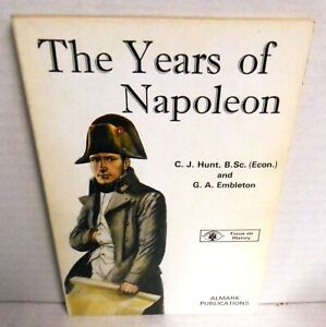 ALMARK BOOK The Years of Napoleon by Hunt & Embleton op 1972 1st Ed