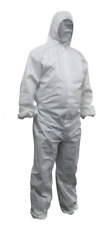 PP Disposable Spray Paint Suit Protective Overall Coverall White