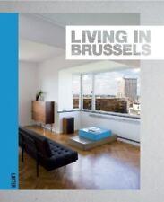 LIVING IN BRUSSELS by Muriel Verbist - Hardcover