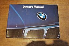 1993 BMW 525i 525i T 535i M5 Owners Manual 1992 new original e 34