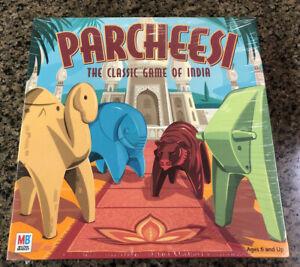 Parcheesi The Classic Game of India - 2001 Milton Bradley New Sealed