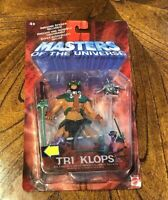 "2002 MATTEL MASTERS OF THE UNIVERSE MOTU TRI KLOPS 6"" ACTION FIGURE SEALED"