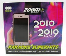 More details for zoom karaoke cd+g - 2010-2019 - 57 pop superhits - triple cd+g karaoke disc pack