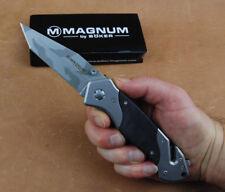Rettungsmesser MAGNUM HIGH RISK EMERGENCY KNIFE Tanto Taschenmesser Camo Tarn
