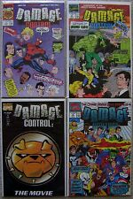 Damage Control III #1-4 Marvel Complete (4) Comic Set 1991 VF to NM Movie Soon