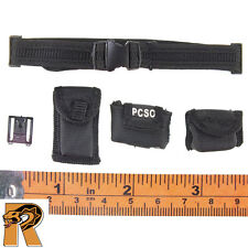 Metropolitan Police - Duty Belt w/ Pouches - 1/6 Scale - Modeling Action Figures