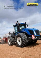 New Holland T9 2016 catalogue brochure tracteur tractor tcheque czech rare