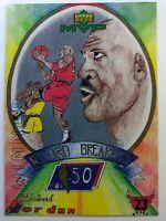 1999 Upper Deck MVP Draw Your Own Card Winner Michael Jordan #W18, Chicago Bulls