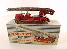 Dinky Toys F n° 32D Delahaye Auto-échelle de pompiers fire truck en boite