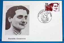 DANIELE CASANOVA  FRANCE CPA Carte Postale Maximum  Yt  2259 C
