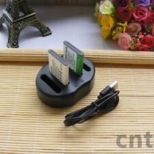 2x NP-45S Battery &USB Charger for FujiFilm  FinePix J26 J27 J30 J35 Z71 Z80 Z81