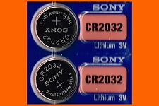 2 x Sony cr2032 battery 3V Lithium Battery US Seller NEW date expire 2027