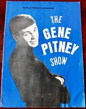 THE GENE PITNEY SHOW PROGRAMME (1965) LULU MIKE COTTON QUIET FIVE ROCKIN BERRIES