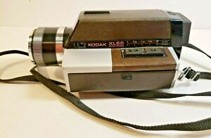 Vintage 70s Kodak XL55 Super8 Movie Film Camera Ektar FREE SHIP F2