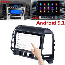 """9"""" Android Radio For Hyundai Santa Fe 2005-2012 Stereo MP5 GPS Navigation 1+16GB"""