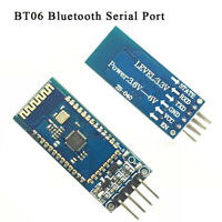 BT06 Bluetooth Serial Port Wireless Module With PCB RFAntenna Data Transmission~