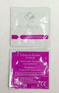 2 ID Stimulating Gel for Her Sampler Enhance Female Arousal 2mL Pack Travel Size