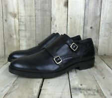 Cole Haan Grand OS Harrison Double Monk Strap Loafer New Mens Size 10 Dark Brown