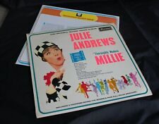JULIE ANDREWS 'Thoroughly Modern Millie' Brunswick STA 8685 & Booklet. Plays EX
