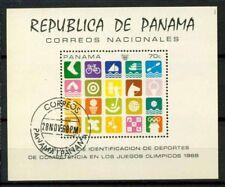 Panama 1968 Sc. Z2 Foglietto 80% Usato